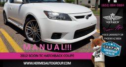 2012 Scion tC Hatchback Coupe – MANUAL