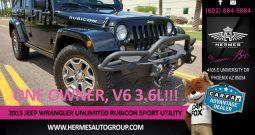 2015 Jeep Wrangler Unlimited Rubicon Sport Utility