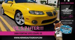 2004 Pontiac GTO Coupe V8