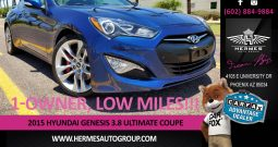 2015 Hyundai Genesis 3.8 Ultimate Coupe