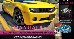 2012 Chevrolet Camaro TRANSFORMERS EDITION RS Coupe – MANUAL