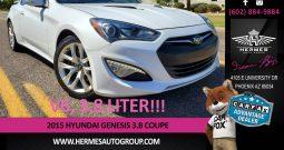 2015 Hyundai Genesis 3.8 Coupe