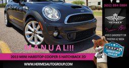 2013 MINI Hardtop Cooper S Hatchback 2D – MANUAL
