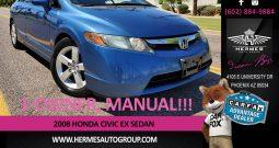 2008 Honda Civic EX Sedan – MANUAL